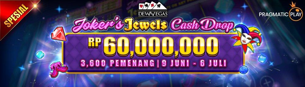 Dewavegas Joker's Jewels Cash Drop