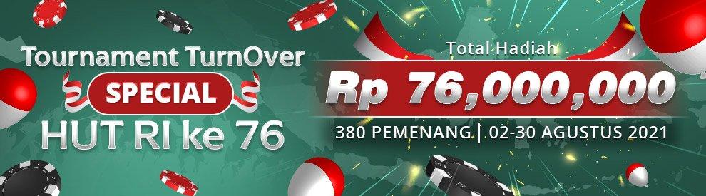 Tournament Turnover Special HUT RI Ke-76